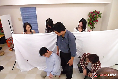 Japanese public sex games -..