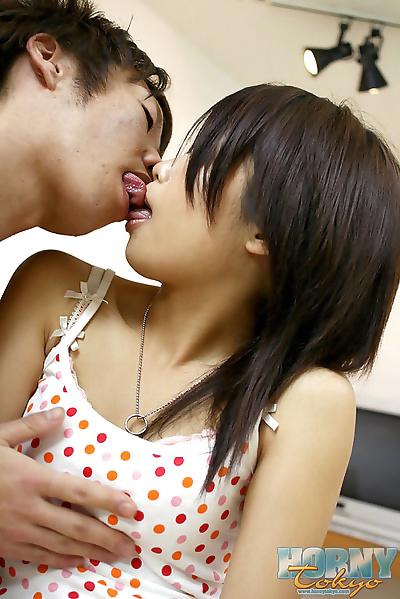 Horny japanese teen rin yuki..