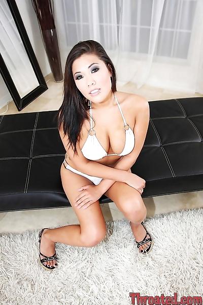 Hot Asian bimbo London Keyes..