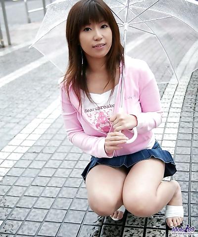 Young Japanese girl Yuka..