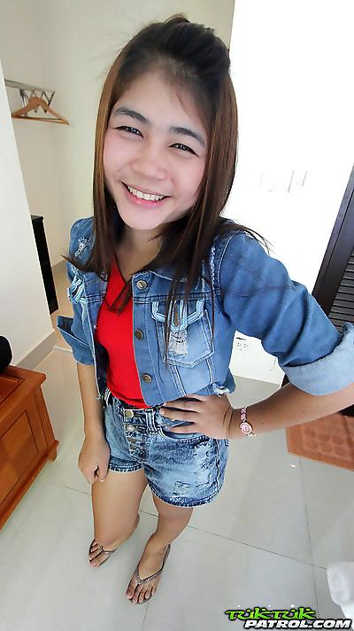 Cute Thai girl with tiny..