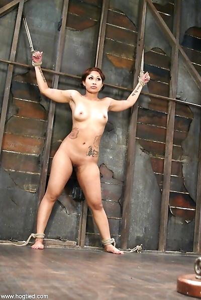 Naked Asian female..