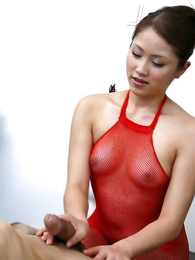 Japanese coquine in red..