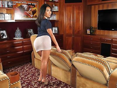Hot Asian Cindy Starfall in..