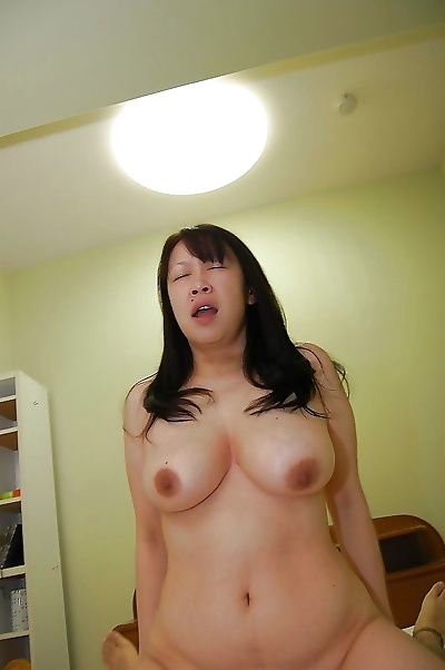 Slutty japanese MILF with..