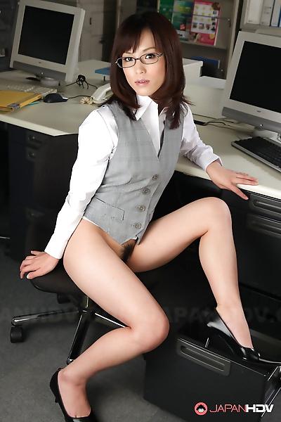 Japanese office lady Arisa..