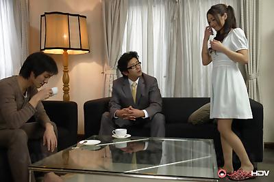 Aoi miyama shares two fine..