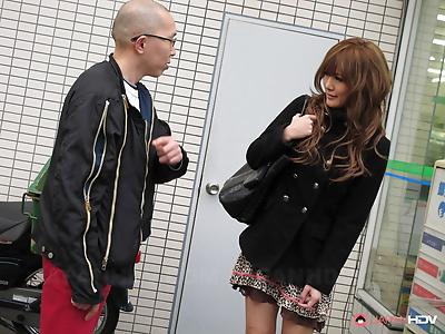 Hikari tsukino gets her twat..