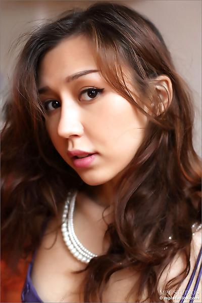 Beautiful Asian girl in..