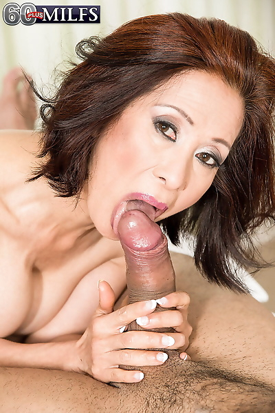 Asian granny Kim Anh gets on..