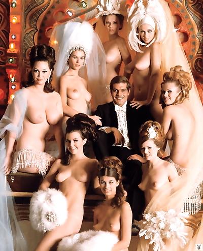 Vintage Playboy models..