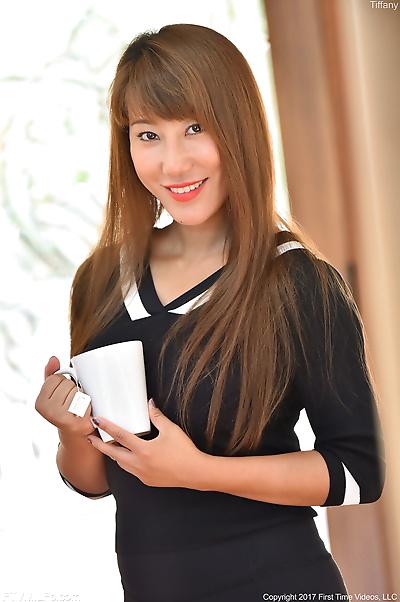 Hot oriental chick Tiffany..