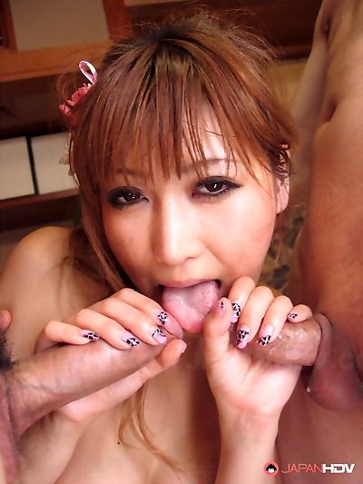 Japanese housewife Eri..