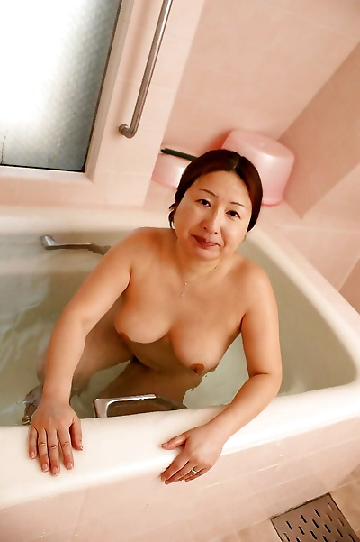 Chubby asian granny with..