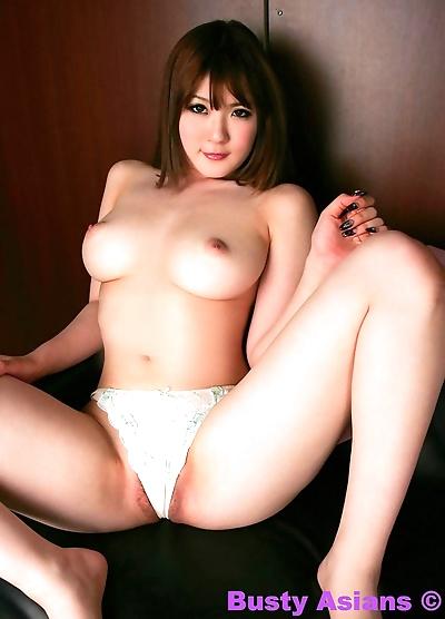 Busty asian momoka nishina posing in lingerie - part 4574