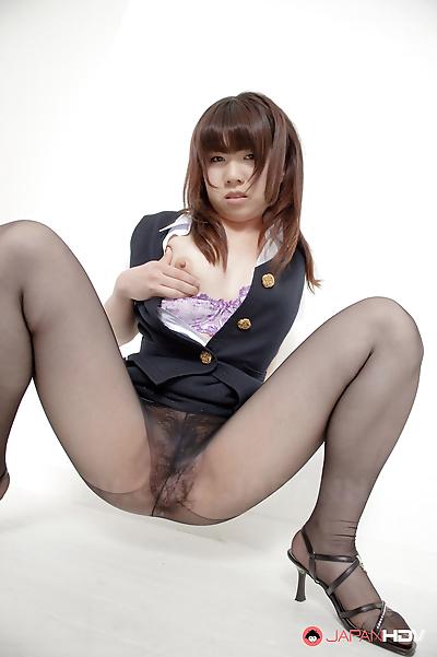 Hot amu umino shows her stockings - part 1808